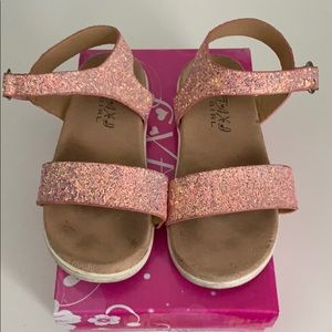 Taxi sparkle sandals